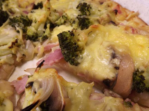 Heiße Pizza für kalte Tage