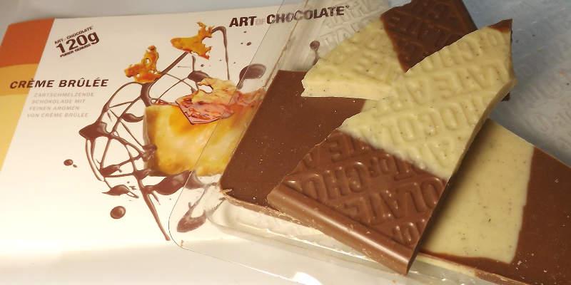 Creme Brulee Schokolade