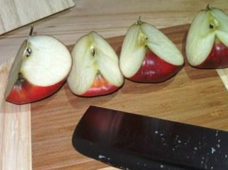 Äpfel zum Einkochen