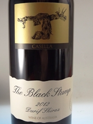 Black Stump Durif Shiraz 2012