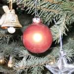 Esstisch weihnachtlich eindecken