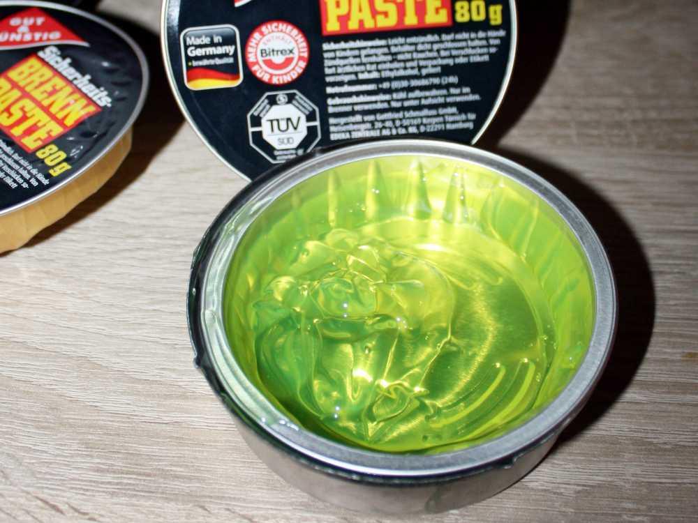 Fondue Brennpaste 80 Gramm in Aluschale