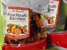 Fruchtsaft-Bärchen - mit Vitamin C