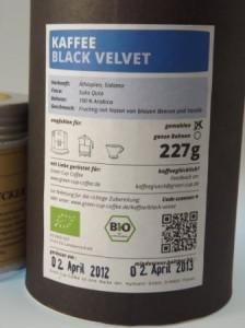 Green Cup Coffee Black Velvet