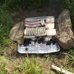 Grillen beim Picknick