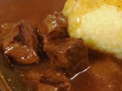 Gulasch aus der Gastrolux Pfanne