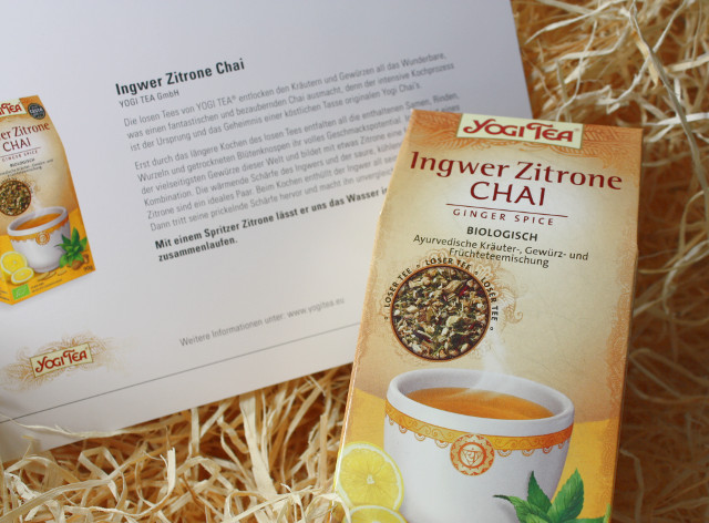 Ingwer Zitrone Chai Yogi Tea