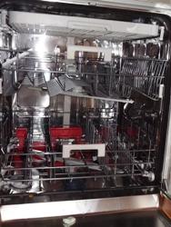 Innenaufteilung der Bauknecht Spülmaschine