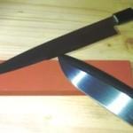 Japanischer Wasserschleifstein zum Messer Schärfen