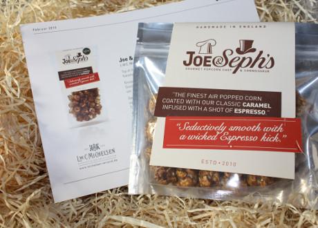 Joe & Seph' s Gourmet Popcorn Caramel & Espresso