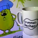 Kaffeebecher und Kaffeetasse bedruckt