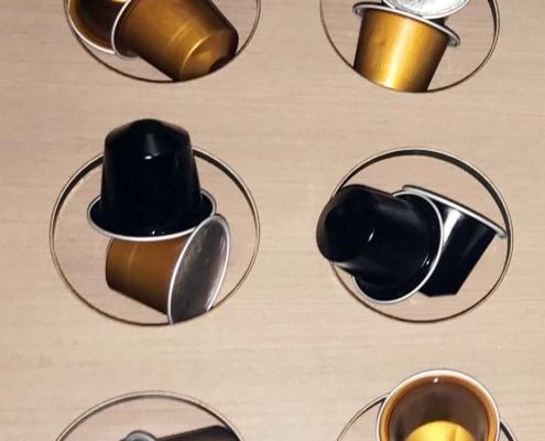 Kaffeekapseln kompostierbar für Kapselmaschinen