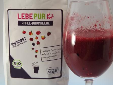 LebePur Apfel-Brombeere