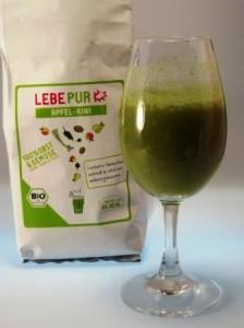 LebePur Apfel-Kiwi