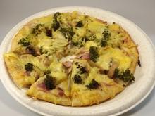 Leckere Pizza vom Pizzataxi