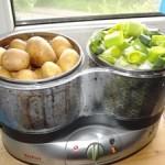 Moderne Küchengeräte zum Kochen
