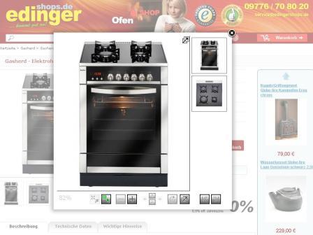 Neuer Gasherd für die Küche