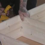 Küchenaufbau beim Umzug