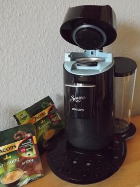 Padmaschine oder Kaffeevollautomat