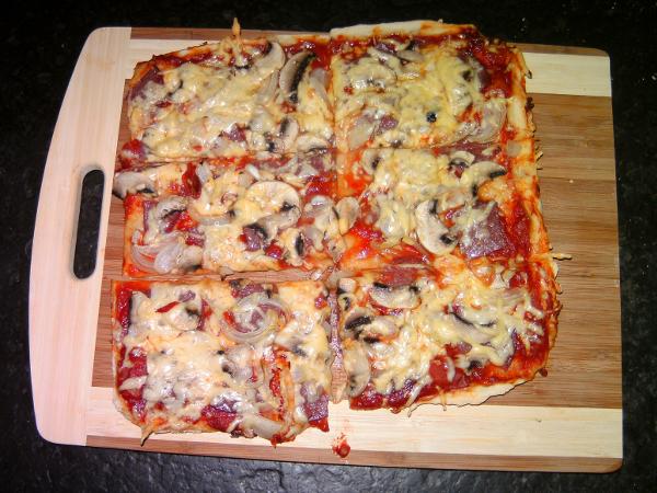 Pizza selbst machen