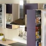 Platz ideal ausgenuntzt in der Stauraumküche