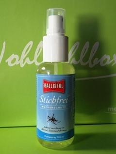 STICHFREI Pumpspray - hält Mücken und andere Insekten fern