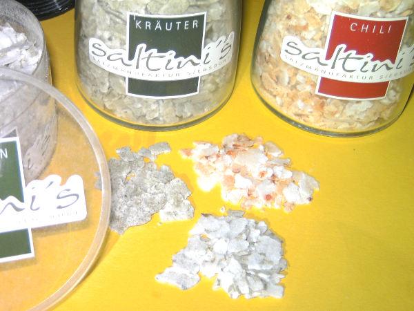 Saltini's Natursalzplättchen
