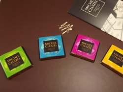 Schokoladentäfelchen von MICHEL CLUIZEL