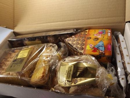 Sehr günstiges Kennenlernpaket vollgepackt mit leckerem Lebkuchen & Gebäck