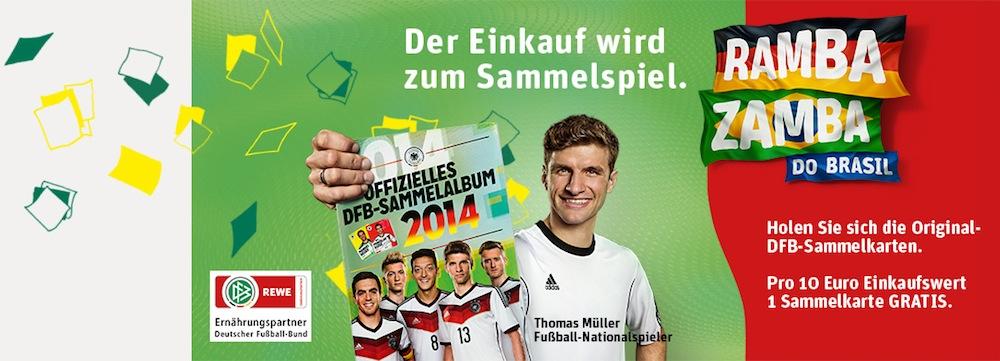 Offizielles DFB-Sammelalbum Fußball WM 2014