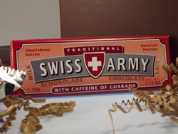 Traditional SWISS ARMY WITH CAFFEINE OF GUARANA Survival Portion