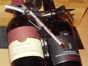 Wein richtig temperieren