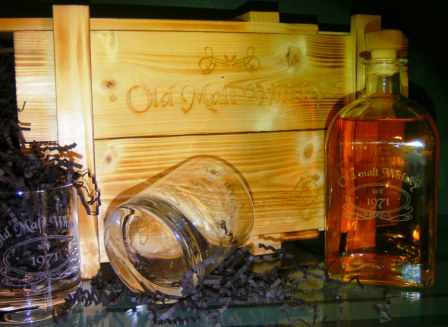 Edles Whisky Set
