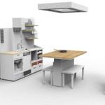 Zukunftsküche - Küchenentwurf aus dem Jahre 2025 könnte so aussehen