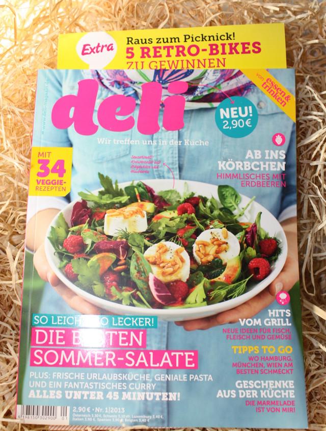 deli - Zeitschrift in der Gourmetbox April