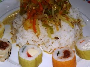 njushi zum Reisgericht