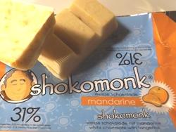 shokomonk Weise Schokolade mandarine